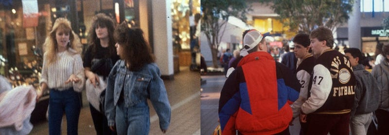 People Are Identifying Themselves In These 1980s Mall Photos
