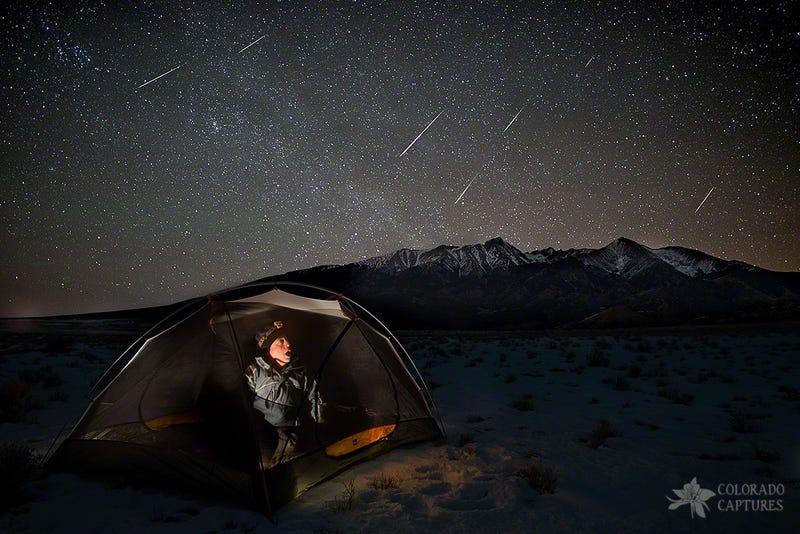 Planets Constellations and Quadrantid Meteors In Jan