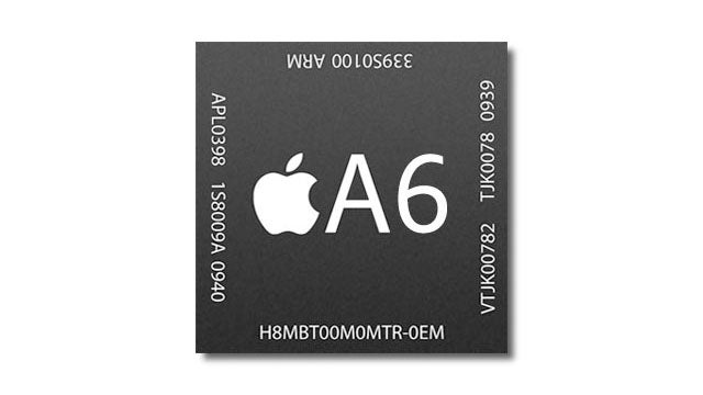 Apple's New A6 Chip Is Smaller, Lighter, and Mightier
