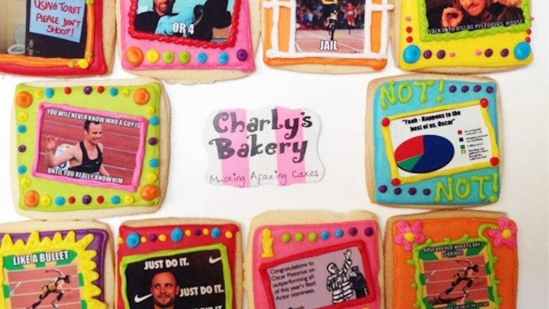 Bakery Is Very Sorry for Oscar Pistorius Meme Cookies