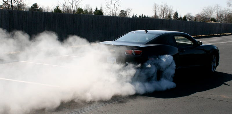 2010 Chevy Camaro: First Burnout Video!