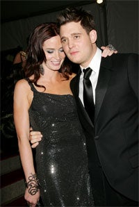 Michael Buble Hits On Own Girlfriend, Strikes Out