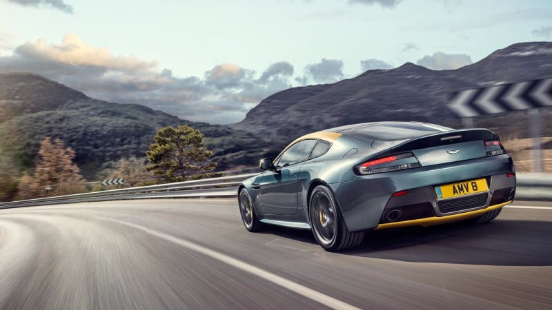 The Aston Martin V8 Vantage N430 Gets Race-Tacular Paint And A Stick