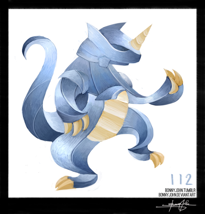 The Regal Rhydon! Pokemon One a Day!