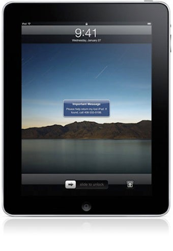 MobileMe Will Find or Erase Your Missing iPad