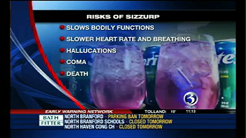 Risks Of Sizzurp