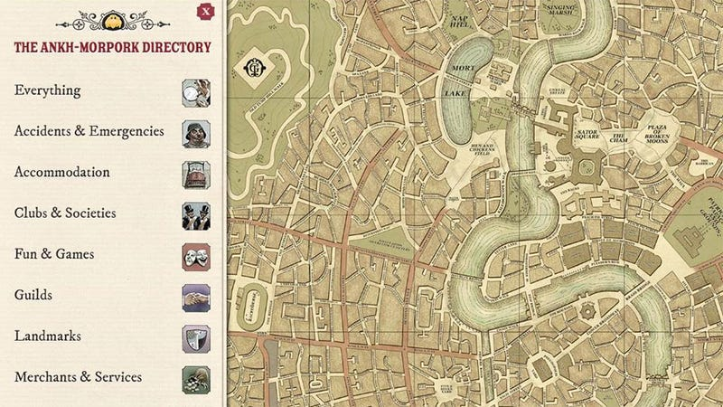 This iPad App Puts Discworld's Finest City at Your Fingertips. I'd Wear Gloves.