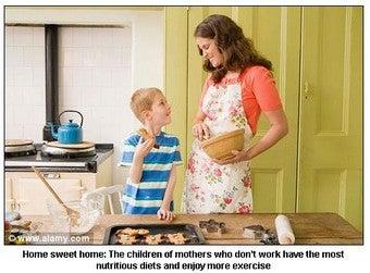 British Researchers: Kids Healthier When Moms Don't Work