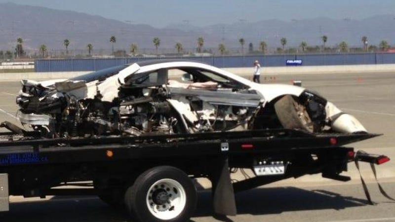 McLaren Driver Allegedly Crashed $250K Supercar Into Subaru BRZ After Ten Minutes On Track [UPDATES]