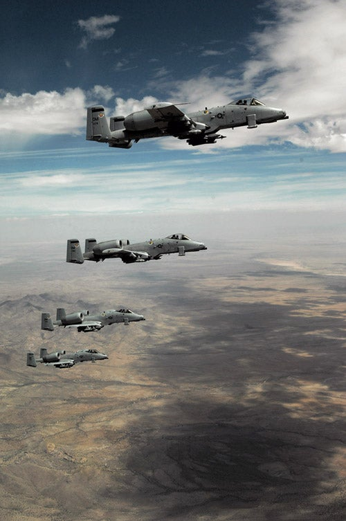 The Air Force's Rationale For Retiring The A-10 Warthog Is Bullshit