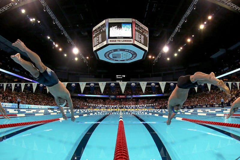 Don't Wait Until Tonight To Watch Michael Phelps And Ryan Lochte Swim The 400 IM