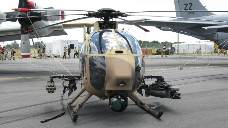 Beware This Unmanned Copter and Its Rocket Launcher Arsenal