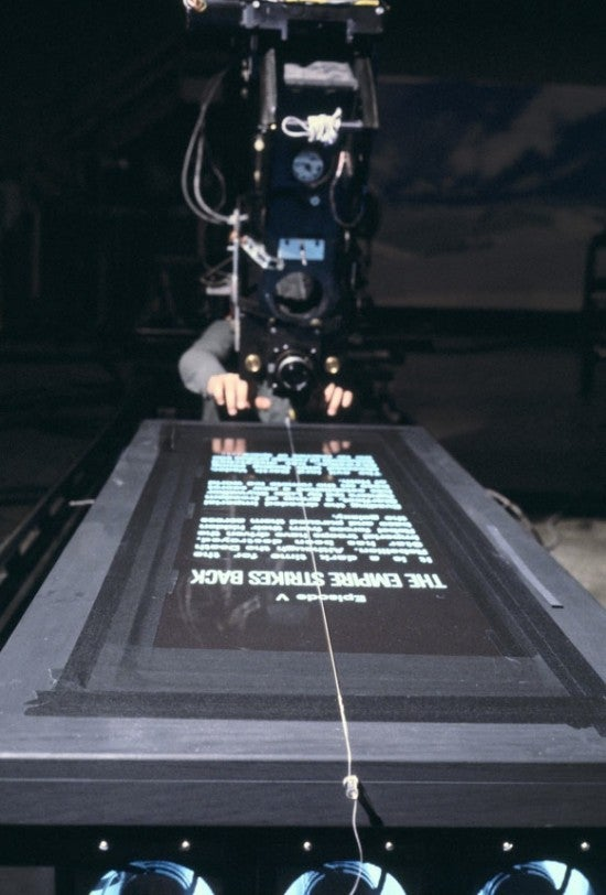 So That's How They Filmed the Star Wars Opening Crawl...