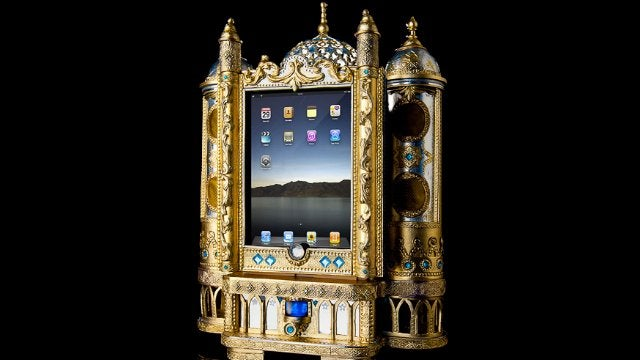 This Absurdly Ornate iPad Dock Is Fit For a Czar