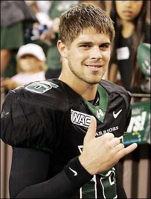 Colt Brennan Involved In Head-On Car Crash