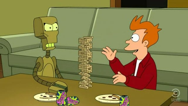 Futurama reveals what happens when a lobster hates a robot