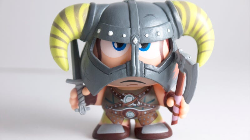Skyrim's Dragonborn is Freakishly Cute in Vinyl