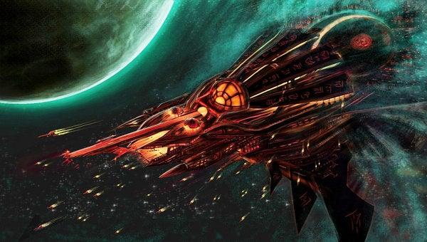 Spaceship Concept Art (Gallery 1)