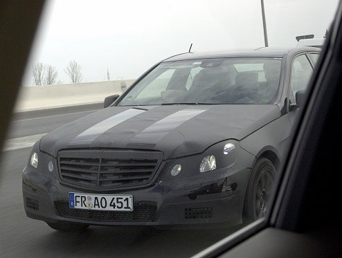 2009 Mercedes E-Class In Camouflage Built For Darth Vader