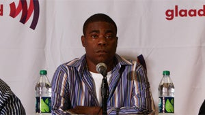 Tracy Morgan Smooths Over Homophobia Controversy by Joking About 'Retarded Kids'
