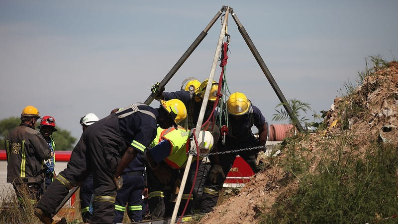 Over 200 Workers Trapped in Illegal South African Gold Mine
