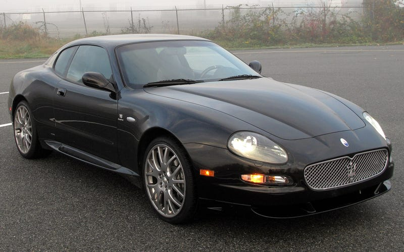 Have you seen the prices on early-mid 2000s Maserati Coupes?