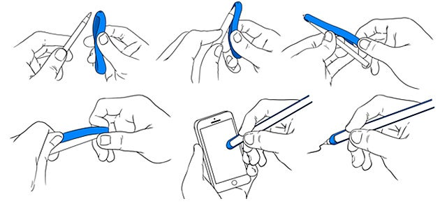 Turn Your Favorite Pen Into a Stylus With This Stretchy Rubber Wrap