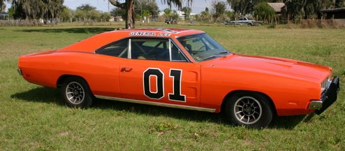 Original General Lee Up For Auction, Time To Sell The Meth Lab