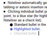Noteliner Takes Simple and Portable Outlined Notes