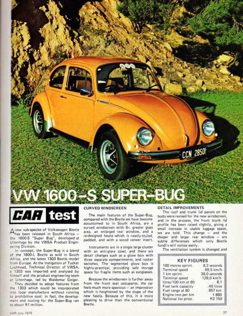 The Freaky Frankenstein VW Beetles Of South Africa