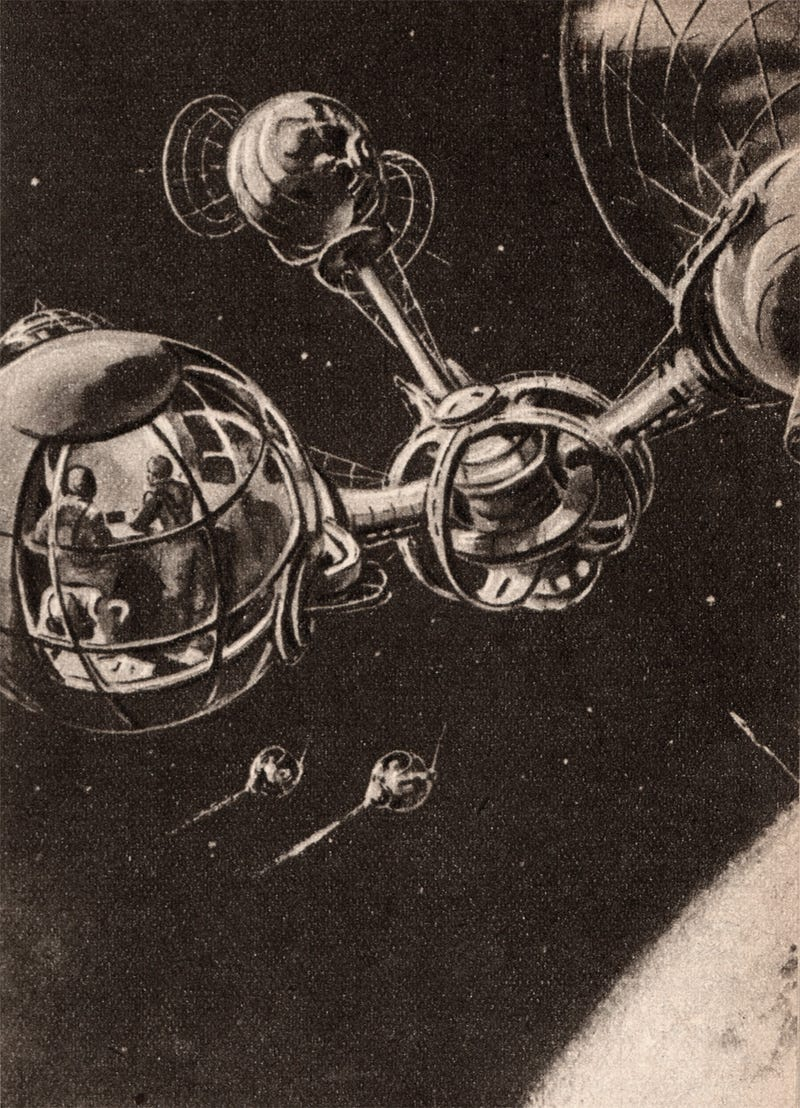 This Is How Space Exploration Was Imagined Before Sputnik