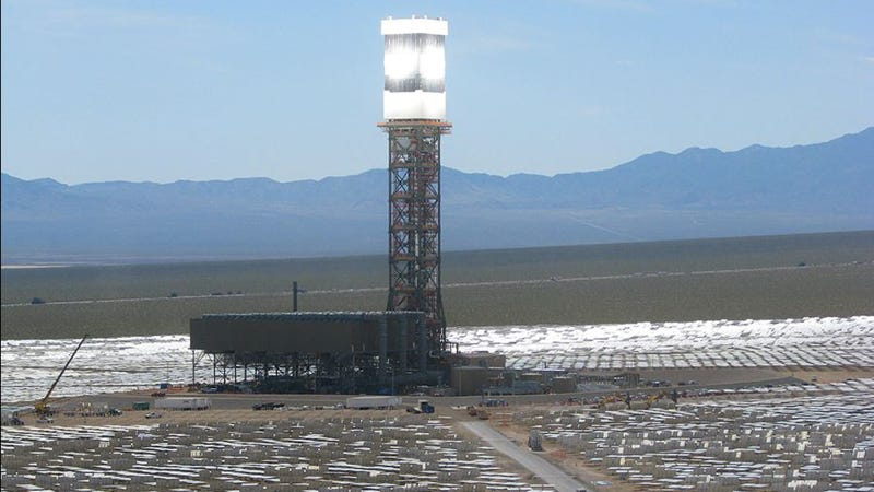 The World's Largest Solar Thermal Power Plant Is Now Online