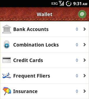 Wallet Securely Stores Sensitive Information on Your Android Phone
