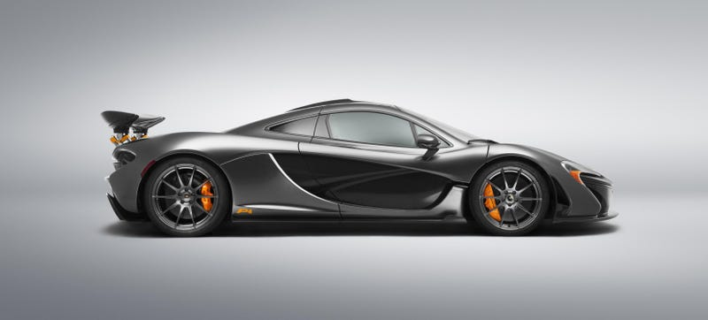 This Stealth Grey And Orange Bespoke McLaren P1 Is A Symphony Of Evil