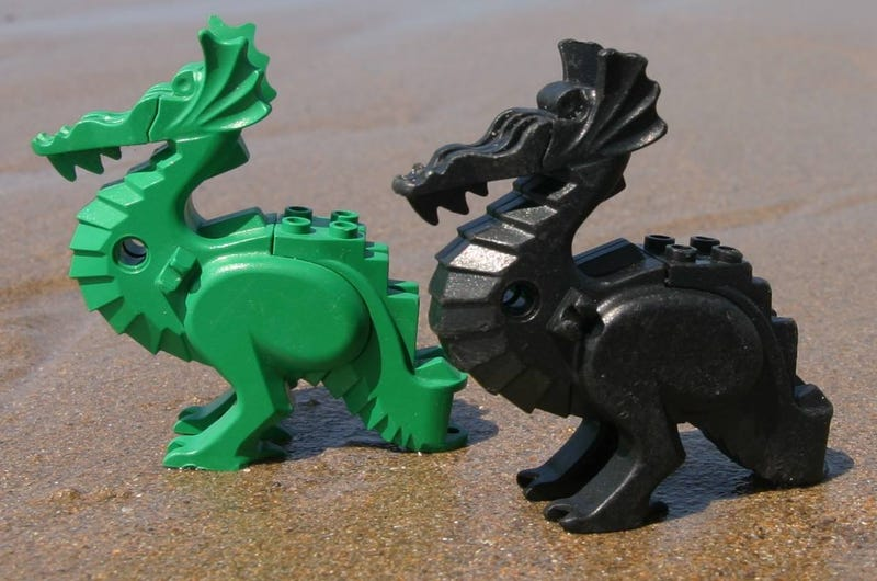 Thousands of Lego Pieces Have Been Washing Up On This Beach Since 1997