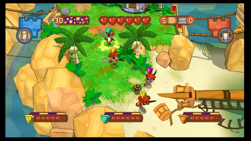 Pirates Versus Ninjas In Fat Princess