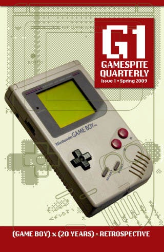 GameSpite Quarterly Gives Game Print Media 1-UP
