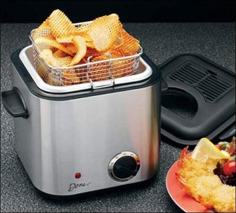 Portable Deep Fryer Lets You Get Fat Wherever You Go