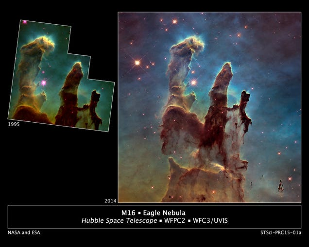 This New, High-Def View of the Eagle Nebula Is Awe-Inspiring