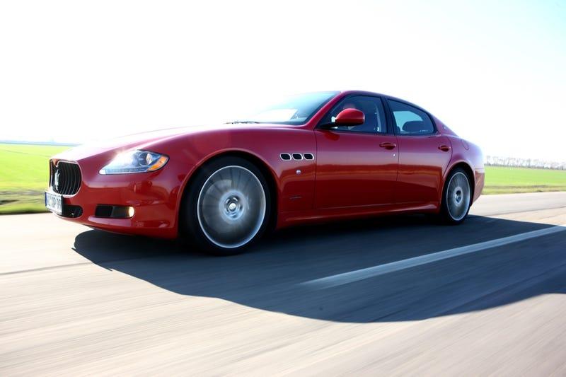 2009 Maserati Quattroporte Sport GT S: First Drive