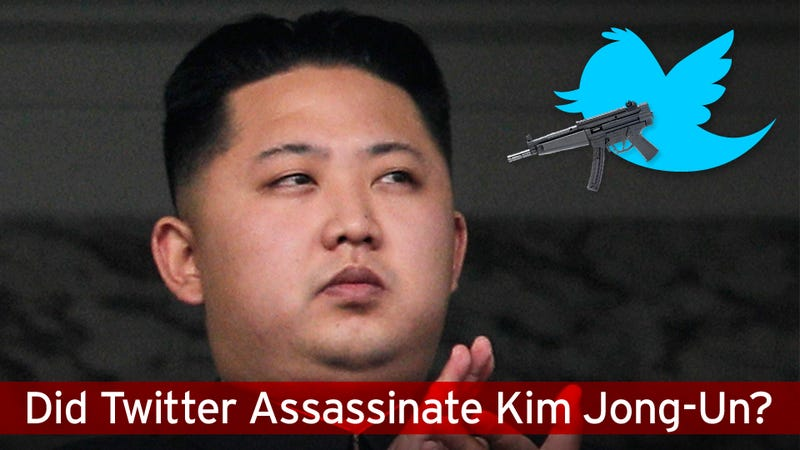 Chinese Twitter Says Kim Jong-Un Was Assassinated This Morning In Beijing