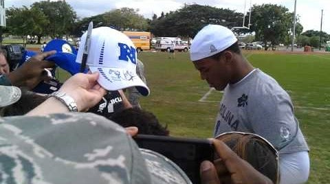 Cam Newton Is Charging For Autographs. The Horror!