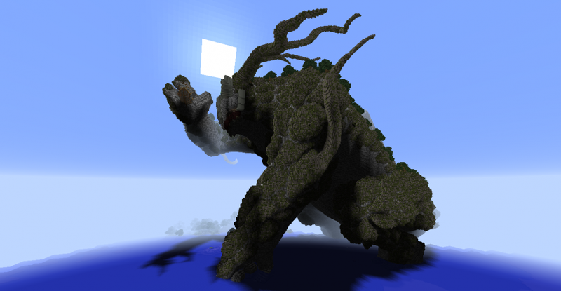 In The Shadow of the Minecraft Colossus