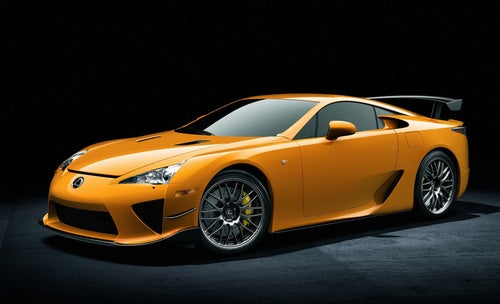 2012 Lexus LFA Nurburgring Package: Insert Intended Acceleration Joke Here