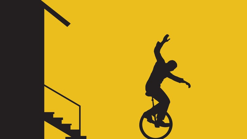 About That Time You Traded All Your Possessions for a Unicycle…