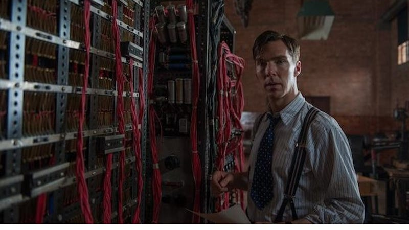 Here's Your First Look at Benedict Cumberbatch as Alan Turing