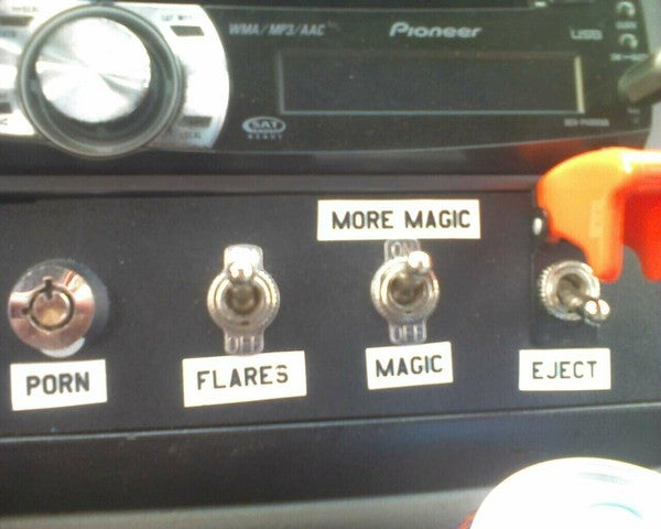 I Wish My Car Had Switches For Porn and Magic