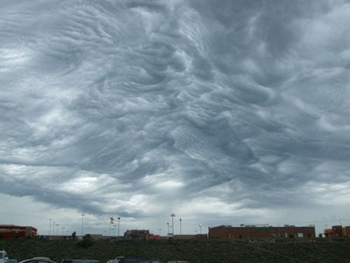 A new kind of cloud formation boils over the central US