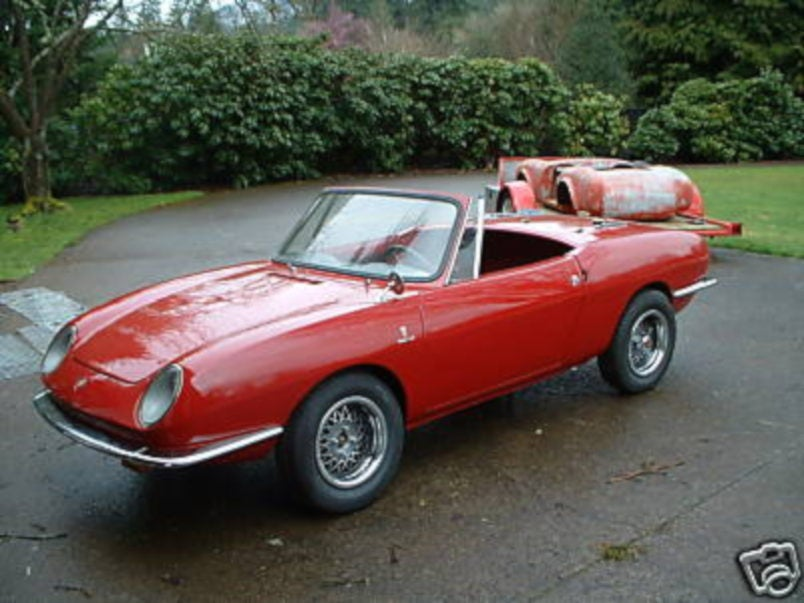 11 000 1967 Fiat 850 Spider Project Car