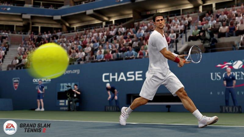 EA Sports' Grand Slam Tennis 2 Outwits the Hawk-Eye